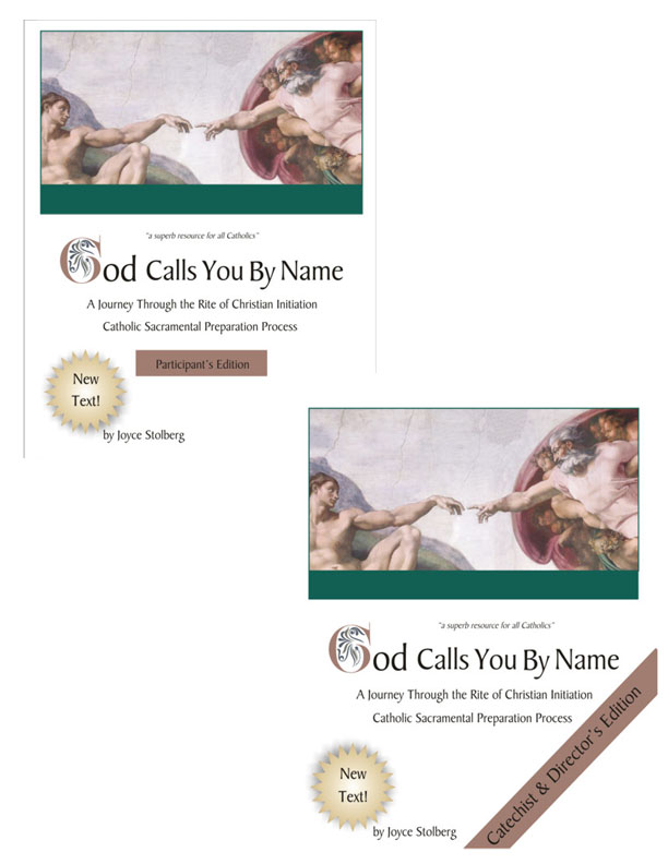 Covers for both Editions of God Calls You By Name